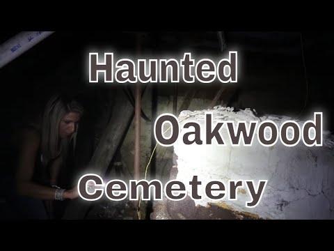 (HAUNTED OAKWOOD CEMETERY SYRACUSE NY) HAUNTED ABANDONED  CHURCH ON PROPERTY, GHOSTLY ENCOUNTERS