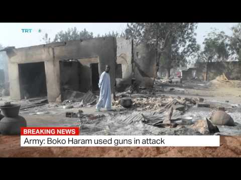 At least 65 people killed, dozens injured in Boko Haram attack in Nigeria, Sophia Adengo reports