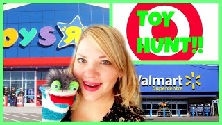 TOY HUNT!! Toys R Us Target Walmart Shopkins Zelfs Frozen Plants vs. Zombies