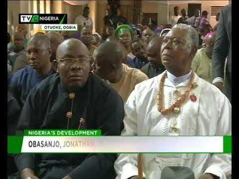 Obasanjo, Jonathan worship in Otuoke