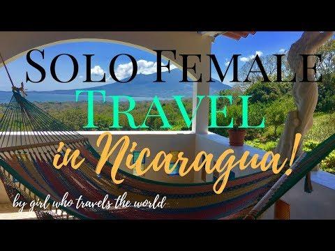 Solo Female Travel in Nicaragua!