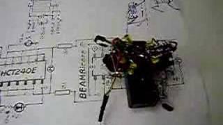 two motor bicore walker