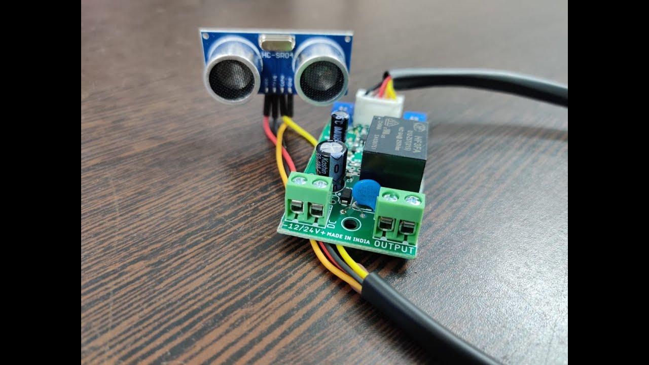Download AUTOMATIC HAND SANITIZER DISPENSER KIT USING ULTRASONIC MODULE PCB   BOARD   CIRCUIT   KIT