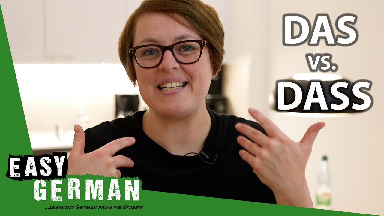 DAS vs. DAS vs. DASS | Super Easy German (154)