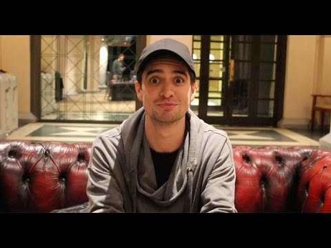 Panic!s Brendon Urie Talks TØP Collab, Trump, Spongebob Musical & More