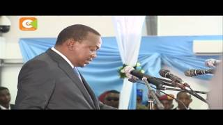 President Kenyatta attends swearing-in of new Somalia president