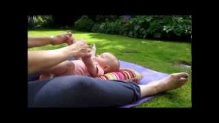Baby Yoga Video(Baby yoga demonstration for a baby aged between 6 weeks - mobile. Movements based on those developed by the Birthlight Trust., 2012-10-21T18:59:44.000Z)