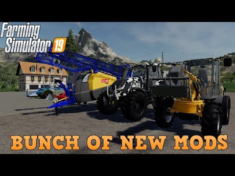 Farming Simulator 19 NEW Mods Again 1-17-19 thumbnail
