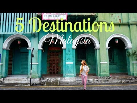 5 DESTINATIONS IN MALAYSIA YOU MUST SEE ! | Backpacking Malaysia
