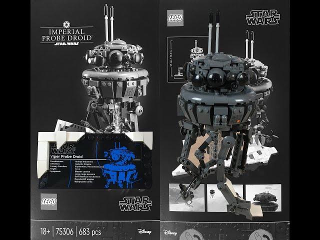 Lego Star Wars 75306 Imperial Probe Droid - Speedbuild