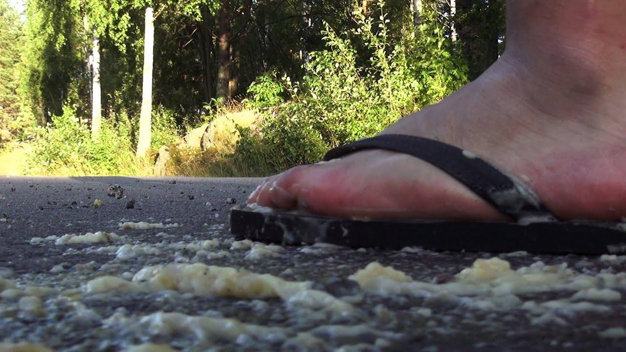 Flip Flop Banana In Shoe Crush Youtube