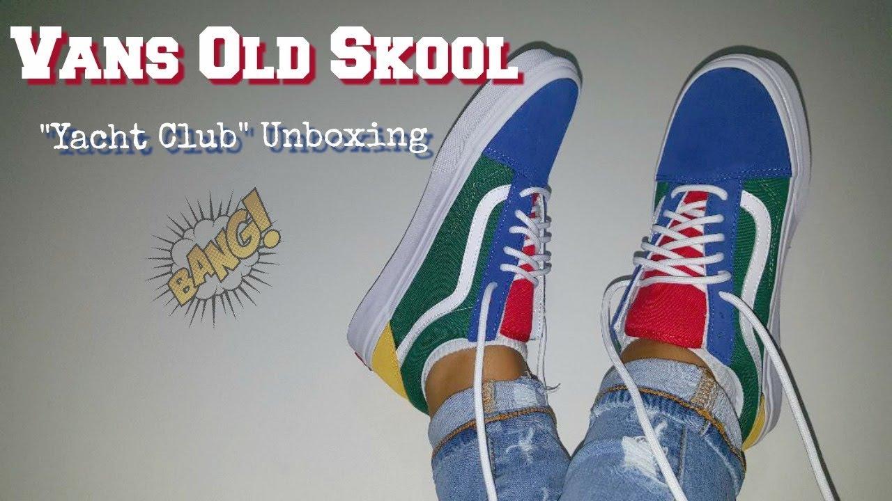 d0ffb456dd8b9f Vans Old Skool  Yacht Club