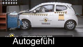 Краш-тест и видео краш-тест Citroen C1 (Ситроен С1) - Автомобильный информационный портал - AutoTurn.ru