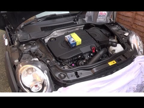 How to Change the Oil & Oil Filter on a 2013 Mini Cooper SD 2.0
