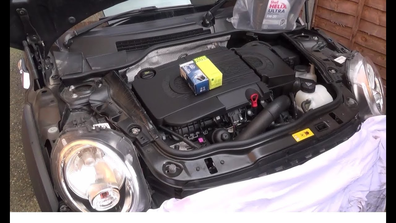 How To Change The Oil Oil Filter On A 2013 Mini Cooper Sd 20