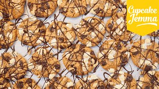 Recipe for Peanut Butter Rocky Road Cookies | Cupcake Jemma