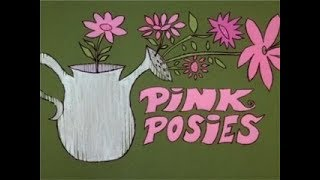 Pink Panther: PINK POSIES (TV version, laugh track) + two bumpers