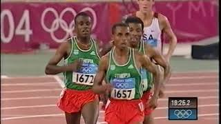 Kenenisa Bekele - 10,000m 2004 Part 1