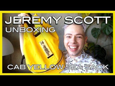 reveal Jeremy Scott x adidas yellow sea sack ss15
