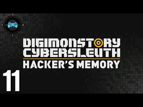 Server Raid - Digimon Story Cyber Sleuth: Hackers Memory #11 [Blind Let's Play, Playthrough]