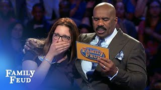 75 points for $20,000! | Family Feud