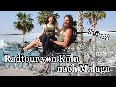 Spontan & Vegan - Mit dem Fahrrad von Köln nach Malaga + Muskeln aufbauen (Teil 18)