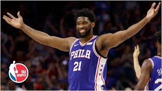 Joel Embiid and the 76ers rout the Nets in Game 5 to advance | NBA Highlights