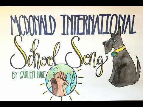 McDonald International School Song