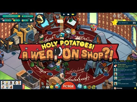 What The Spud!   Holy Potatoes! A Weapon Shop?!  