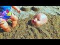 Куклы Беби Бон ПОСЛЕДНИЙ ДЕНЬ на море На Пляже Куклы Лепят Куличики из песка mp3