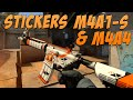CS:GO - Sticker Combinations: M4A4 / M4A1-S