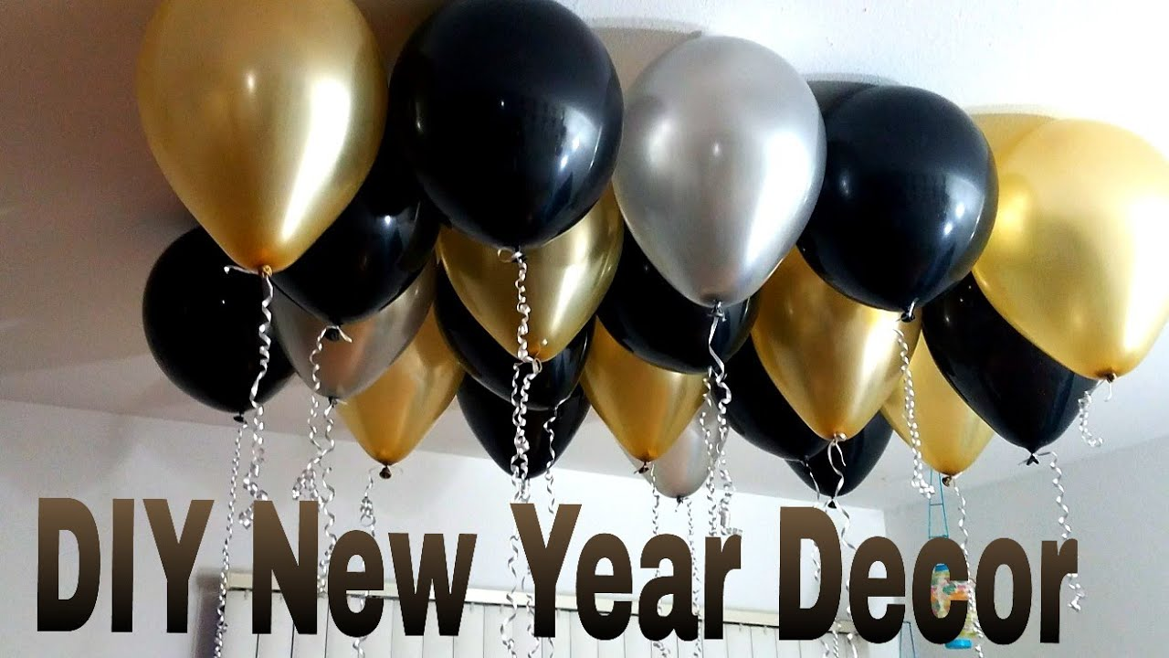 Birthday Decoration Ideas At Home Diy New Year Party Decoration