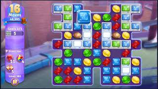 Wonka's World of Candy Level 382 - NO BOOSTERS + FULL STORY ???? | SKILLGAMING ✔️