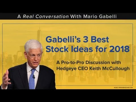 Webinar (Replay): Legendary Investor Mario Gabelli's Best Stock Ideas for 2018
