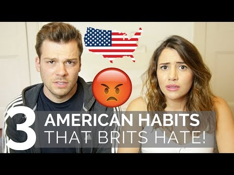 🇺🇸3 American Habits That Brits Hate 🇬🇧| American vs British