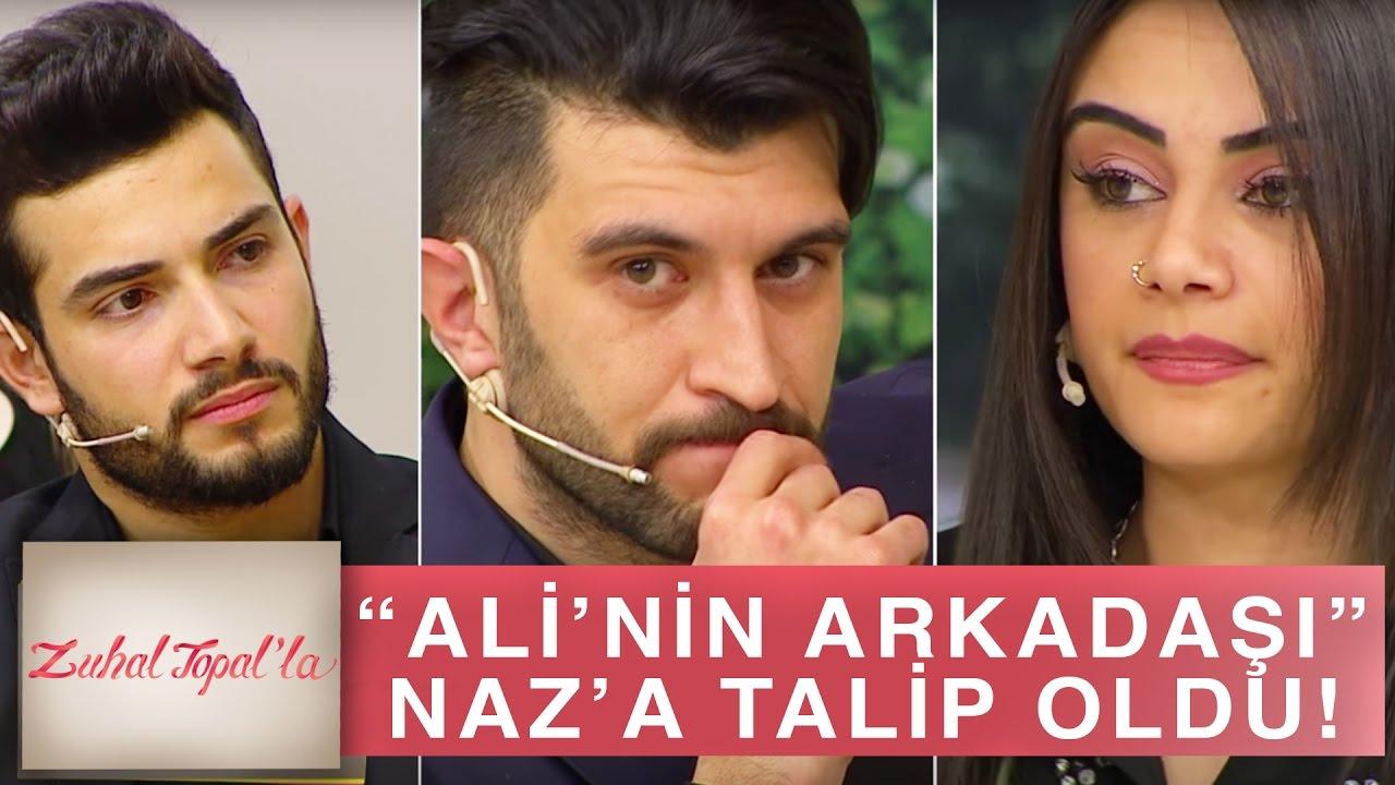 Zuhal Topal'la 163. Bölüm (HD)   Arkadaşı Elmir'in Naz'a Talip Olmasına Ali'den Büyük Tepki!