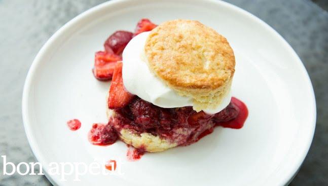 Strawberry-Basil Shortcake Recipe | Sweet Spots