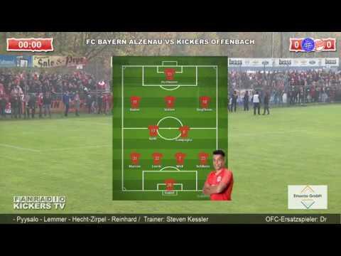 FC BAYERN ALZENAU VS KICKERS OFFENBACH - TEIL 1 (die Ersten 90. Min.) Hessenpokal-Achtelfinale