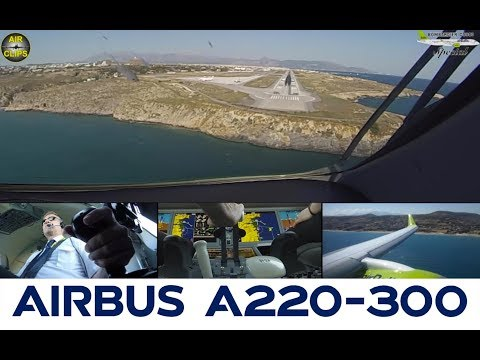 Air Baltic Bombardier CS300 ULTIMATE COCKPIT MOVIE Preview - just perfect planes! [AirClips]