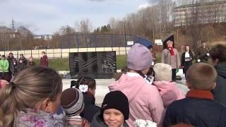 Открытие Мемориала Воинской Славы вахрушевцам- участникам  Великой Отечественной войны