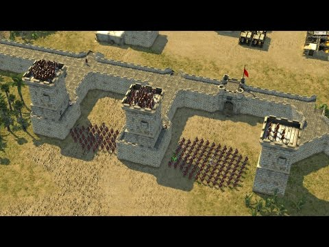 Stronghold Crusader 2 - THE GREAT WALL