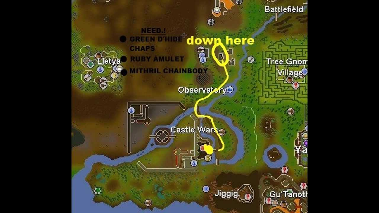 Osrs Map o hare map
