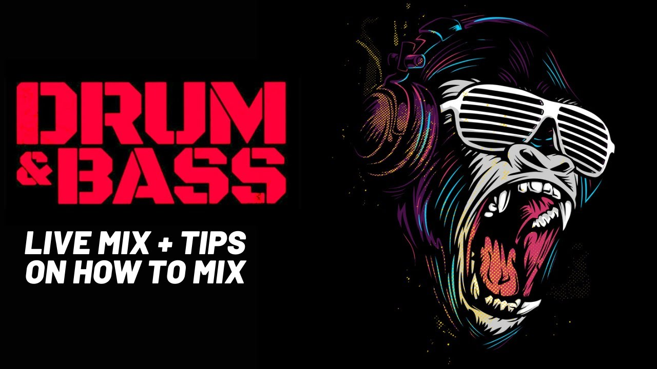 Drum and Bass Mix + DJ Tips and Advice Image