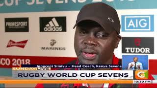 Kenya Sevens go down 19-17 to Samoa