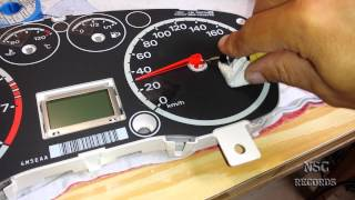Ford Focus Speedometer/Tacho/Tachometer Repair By:NSC