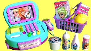 Video NEW Disney Frozen Cash Register Toy with Lights n' Sounds & Surprise Cashier Toys for Girls 。◕‿◕。 download MP3, 3GP, MP4, WEBM, AVI, FLV Desember 2017