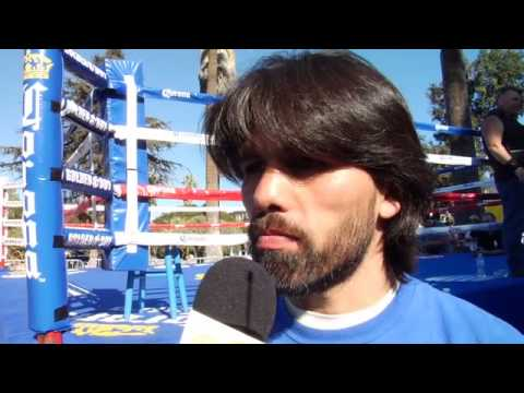 """Alfredo """"Perro"""" Angulo interview"""