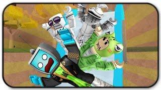 Roblox Adventures - Minigames épiques - Nous ne savons pas comment glisser avec des amis
