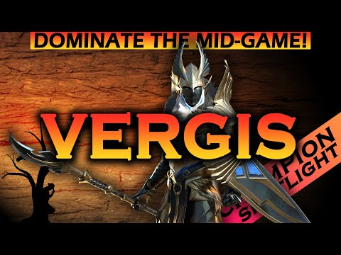 Raid Shadow Legends   Vergis - Dominate the Mid-Game