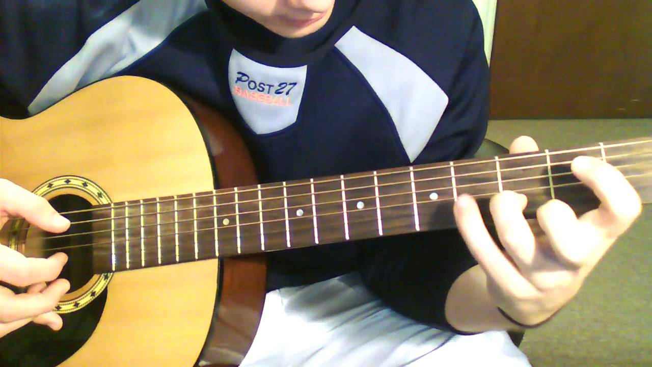 One Last Breath Intro Creed Guitar Lesson Youtube